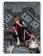 Mgk Drums Spiral Notebook