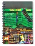 Mgm Grand Las Vegas Spiral Notebook