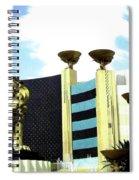Mgm Lion In Las Vegas Spiral Notebook