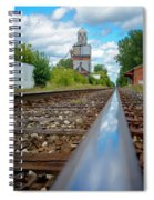 Mi New Haven Rail Road Reflections Spiral Notebook