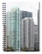 Miami Highrises Spiral Notebook