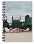 Miami Hurricane Fans Spiral Notebook