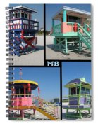 Miami Huts Spiral Notebook