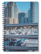 Miami Marina Spiral Notebook