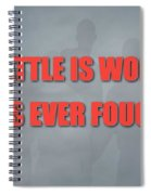 Miami Marlins Battle Spiral Notebook