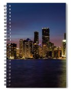 Miami Nights Spiral Notebook