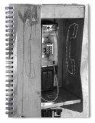 Miami Pay Phone Spiral Notebook
