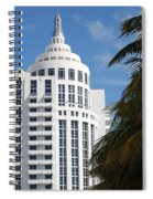 Miami S Capitol Building Spiral Notebook