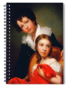 Michael Angelo And Emma Clara Peale Spiral Notebook