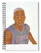 Michael Beasley  Spiral Notebook