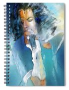 Michael Jackson 04 Spiral Notebook