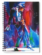 Michael Jackson Action Spiral Notebook