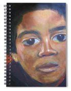 Michael Jackson Spiral Notebook
