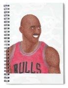 Michael Jordan Spiral Notebook
