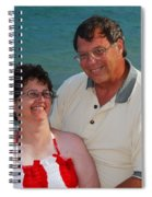 Michael  Peychich And His Sweetheart Spiral Notebook