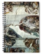 Michelangelo: Adam Spiral Notebook