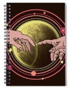 Michelangelo Space  Spiral Notebook