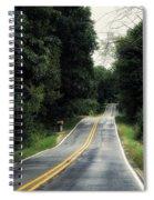 Michigan Rural Roadway In September Spiral Notebook