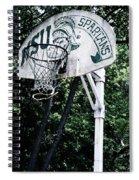 Michigan State Practice Hoop Spiral Notebook