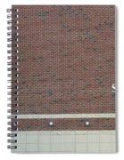 Michigan State University Skandalaris Football Center Signage Spiral Notebook