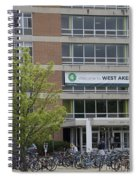Michigan State University Welcome To Akers Signage Spiral Notebook