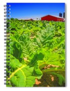 Michigan Surgar Beet Farming Spiral Notebook