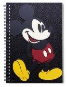 Mickey Mat Spiral Notebook