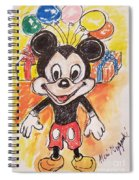 Mickey Mouse 90th Birthday Celebration Spiral Notebook