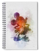 Mickey Spiral Notebook