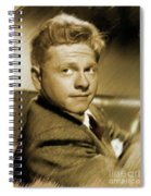 Mickey Rooney, Actor Spiral Notebook