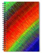 Micro Linear Rainbow Spiral Notebook