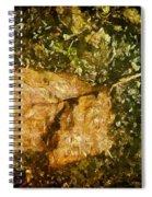 Microcosm Of Fall Spiral Notebook