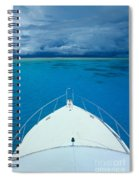 Micronesia, Boat Bow Spiral Notebook