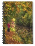 Mid Autumn On The Grand Union No 2 Spiral Notebook