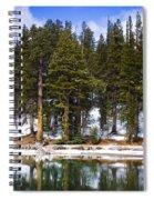 Mid Day Melt Spiral Notebook