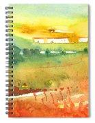 Midday 06 Spiral Notebook