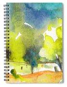 Midday 14 Spiral Notebook