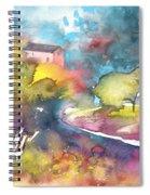Midday 17 Spiral Notebook
