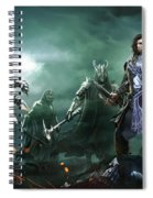 Middle-earth Shadow Of War Spiral Notebook