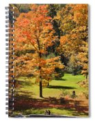 Middle Falls Viewpoint In Letchworth State Park Spiral Notebook
