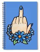 Middle Finger Spiral Notebook