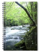 Middle Fork River Spiral Notebook