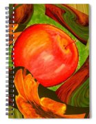 Middle Of The Garden Spiral Notebook