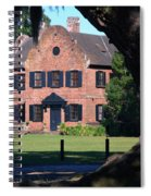 Middleton Place Plantation House Spiral Notebook