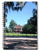 Middleton Plantation Charleston Sc Spiral Notebook
