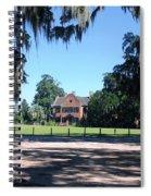 Middleton Plantation Charleston Sc Spiral Notebook
