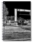 Midnight At Mickey D's Spiral Notebook