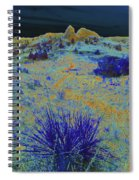 Midnight At The Burning Coal Vein Spiral Notebook