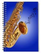 Midnight Blues Spiral Notebook