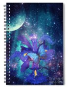Midnight Butterfly Spiral Notebook